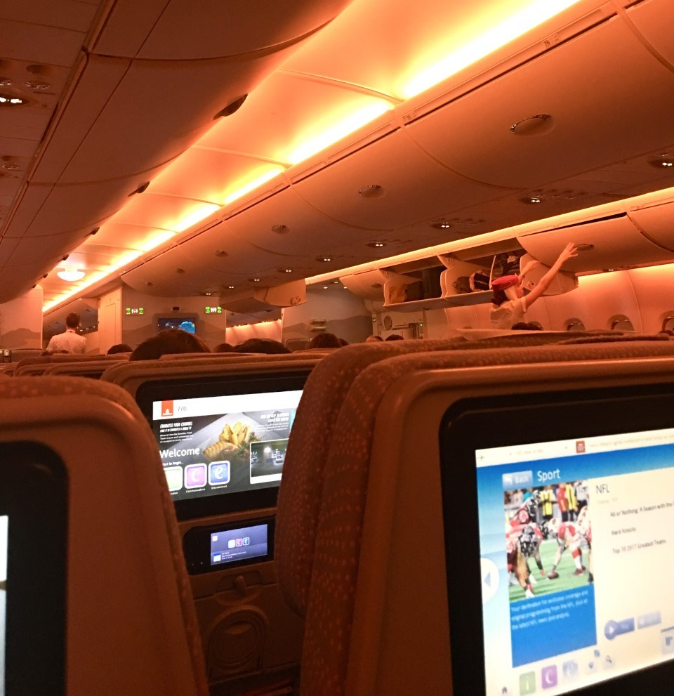 Flying with Emirates