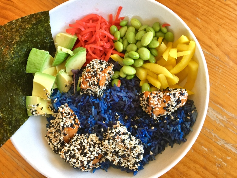 Salmon Poke Nourish Bowl